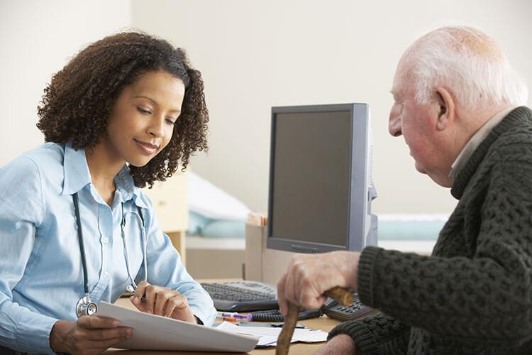 Healthcare professional basic life support training