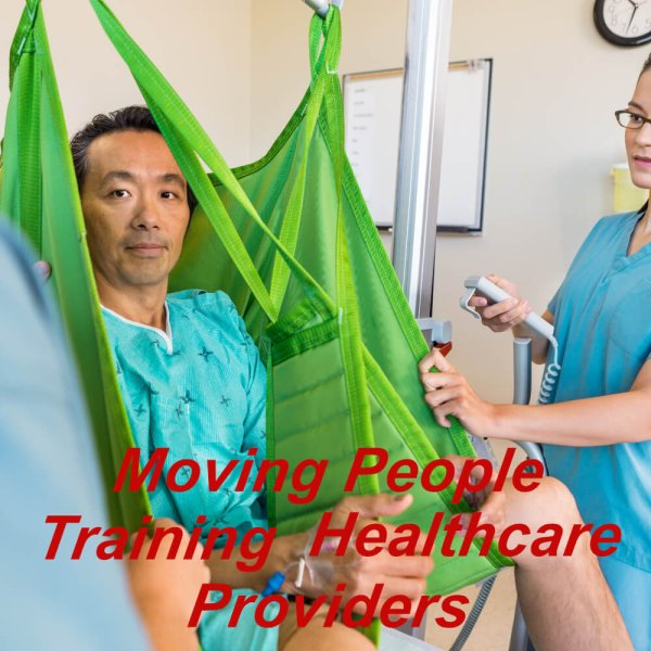 Moving & positioning of people training course, online, ideal for healthcare & social care settings