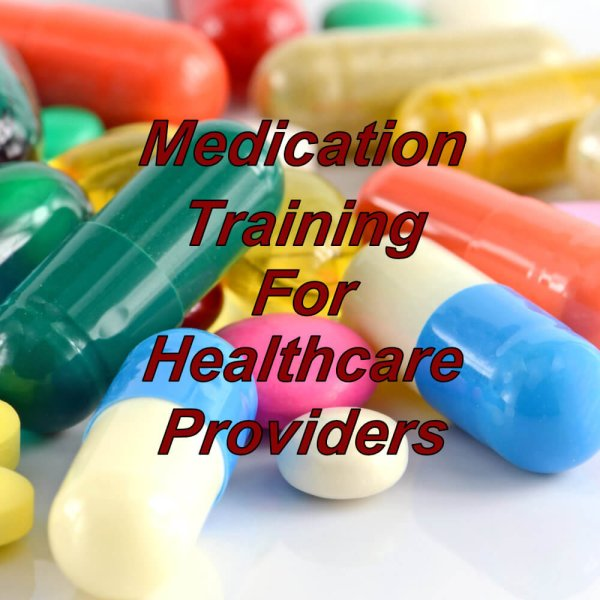 Medication management & training suitable for healthcare professionals and providers