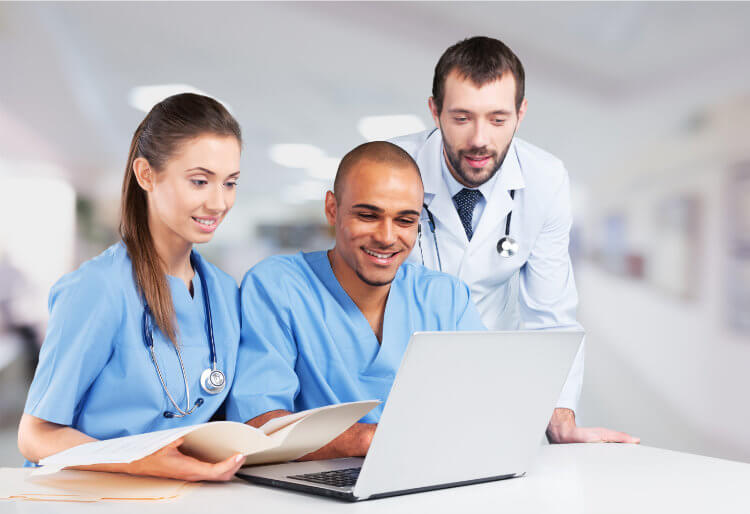 ILS training via e-learning for health-care providers & professionals