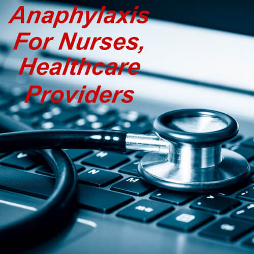 Anaphylaxis programme for health care providers