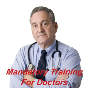 Mandatory training for doctors, GP's