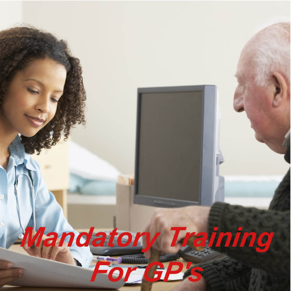 Mandatory e-learning courses for GP's