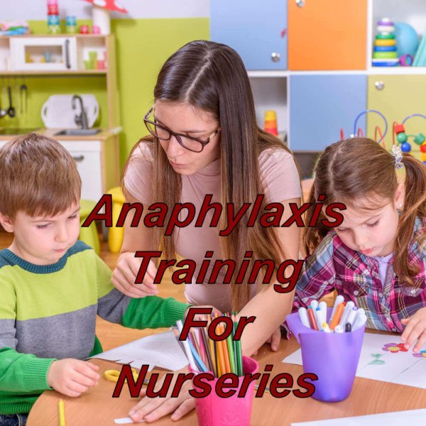 Anaphylaxis training online for nurseries, cpd certified course