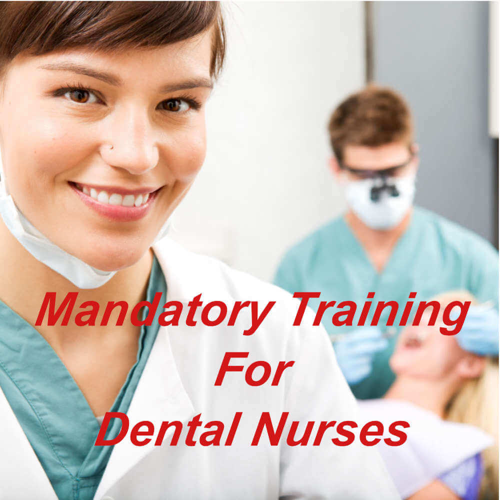 Mandatory training online for dental nurses and technicians