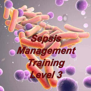 Sepsis e-learning, management course, ideal for healthcare, social care providers, click here to register and start