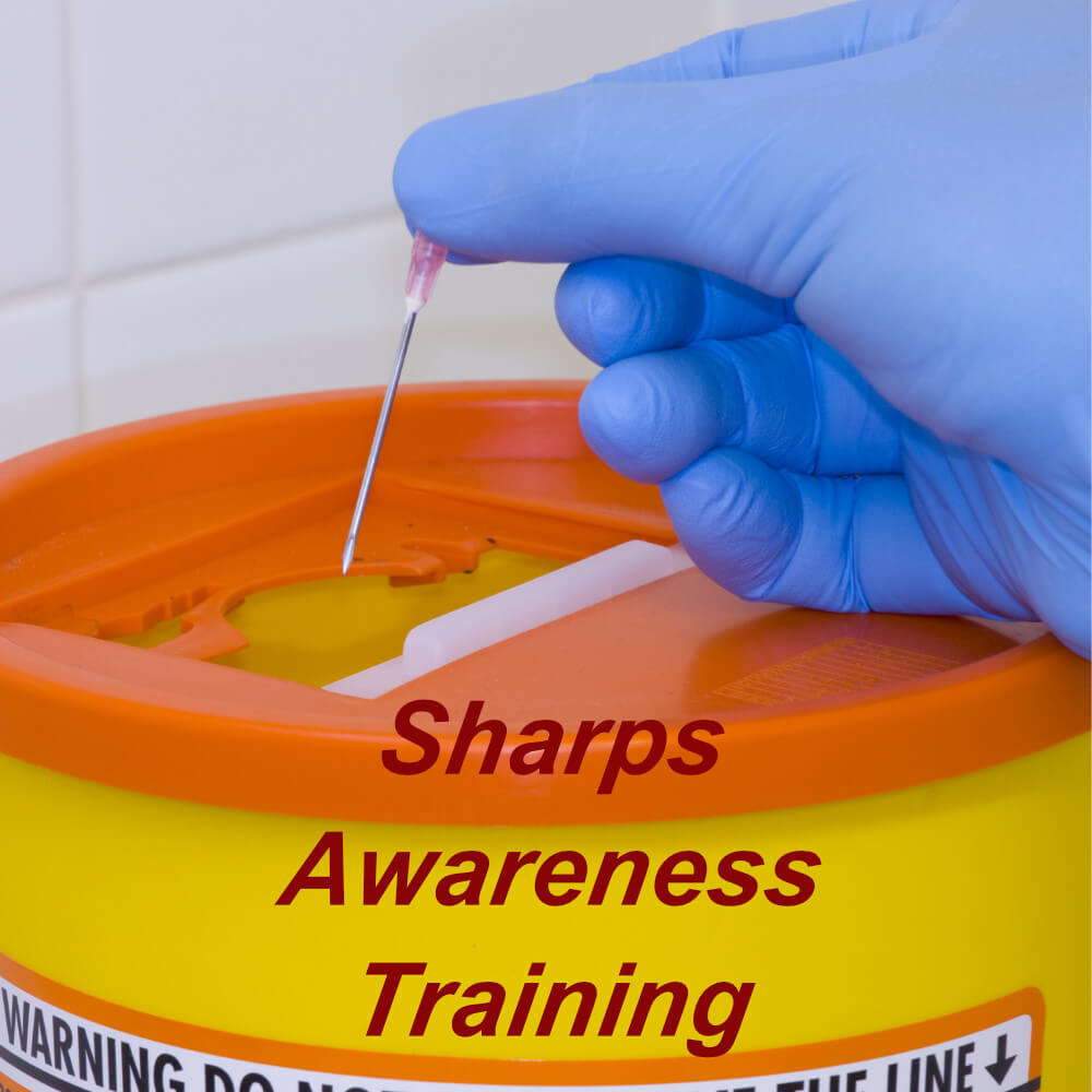 Sharps awareness online training course