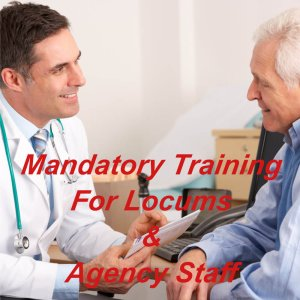 Mandatory training online, ideal for locums & agency staff