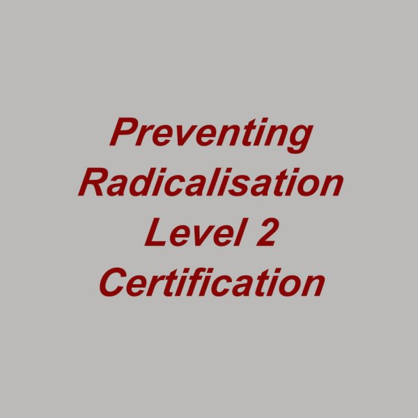 Preventing Radicalisation e-learning training course, suitable for healthcare, doctors, nurses