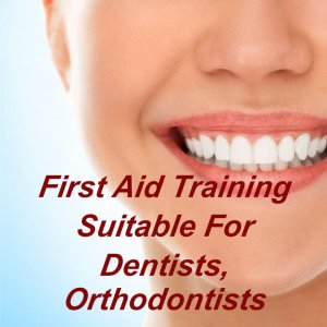 First aid training online suitable for dentists, orthodontists, dental nurses